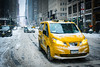 Winter in New York (KOGH65) Tags: snow nyc kogh65 newyorksnow photography heavy blizzard road people city white winter d850 yellowcap yellow cap taxi car traffic