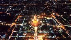 Phra Pathom Chedi (Olivier Guilmin) Tags: aerialphotography drone guilmin mavic nakhonpathom thailand night nuit olivierguilmin temple wat pathom chedi stupa aerial dji