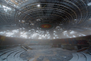 Buzludzha - Inside Winter View