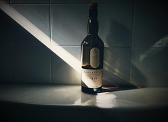 Lagavulin (golecwoj) Tags: whiskey scotch bottle alcohol light drink