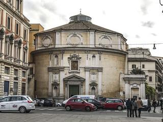 Roma :Chiesa e Piazza di S.Bernardo
