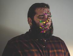 42/365 : Glitter (KitaDependence) Tags: glitter nikon project portrait selfportrait 50mm d610 365 365project