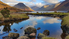 Wast Water, Wasdale (mandysp8) Tags: wasdale thelakedistrict nationalpark scafellpike whinrigg illgillhead uk greatgable l lingmell reflections autumn