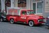 Prague - coca cola truck (relaxedhothead) Tags: apsc fuji xe2 prague prag raw lightroom nik ford pick up f100 coca cola xf 35 f56