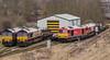 Class 66 66156 66106 60065 66101 DB Cargo._C240007 (Jonathan Irwin Photography) Tags: class 66 66156 66106 60065 66101 db cargo tees yard