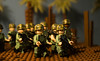 """Jungle Patrol"" (Cheesehead1205) Tags: lego vietnam nikon nikond3300 d3300 duty defending patrol jungle palm tree"