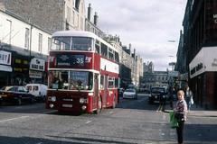 659 (Callum's Buses and Stuff) Tags: runningday opendoors edinburghbus lothianreginaltransport lothian edinburghedinburgh edinburghmadder leyland lrt edinburghcorporation mader madder madderwhite madderandwhite lothianbuses edinburgh alexander pdr1 atlantean corporation eastfield basil an68 vintagebus open doors