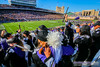Victory is Ours! (Daniel M. Reck) Tags: b1gcats dmrphoto date1022 evanston illinois numb numbhighlight northwestern northwesternathletics northwesternuniversity northwesternuniversitywildcatmarchingband ryanfield unitedstates year2017 band celebration cheer clarinet college education ensemble flute hugging instrument marchingband music musicinstrument musician school university yelling