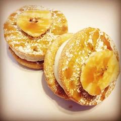 banana caramel whoopie pies (erinheastings) Tags: smores brownies cake baked baker frosting cookies macarons pastry whoopiepies gobs carrot cinnamon spiced bundt poundcake birthday sprinkles