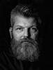 Steffen - 3 - (Nordic62) Tags: wwwkreutschmanncom portrait headshot stefan kreutschmann porträt blackandwhite soul people eyes beard hair male person