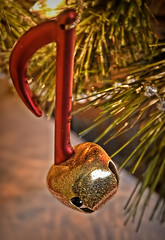 🎄A Little Note About Christmas🎄 (☼A Warm Fire Is So Nice!!!☼) Tags: smilesonsaturday shinymetal note musical metal shiny tree christmas ornament shinymetals