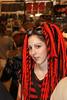 IMG_5859 (aochlesia13) Tags: steampunk portrait regard face canon eos500d couleur colors rouge red dread dreadlocks show décalé canon18200mm