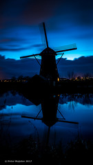 _PCM8555 (studio59.photography) Tags: blue blauw windmolen mill sony a6300 30 sec kinderdijk netherlands