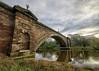 Grosvenor Bridge, Chester (Brian The Euphonium) Tags: grosvenor bridge chester cheshire photomatix nik riverdee hdr sigma1020mm pentaxk20d