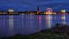 City lights (Norbert Clausen) Tags: thebluehour bluehour blue hour blaue stunde bigwheel