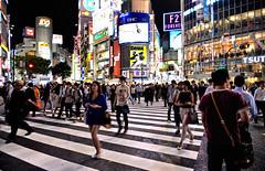 tokyo night (poludziber1) Tags: street streetphotography skyline summer sky city colorful cityscape color colorfull capital travel traffic tokyo urban people light night japan