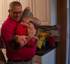 Alex and Grandpa Gary (unionicola) Tags: son kid birthday cute fun happy playing screensaver