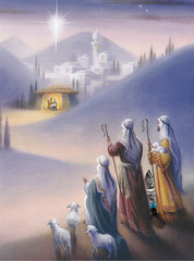 Reason for the Season..... (Mr_Camera71) Tags: gnorman gnome wise men christmas xmas photoshop composite compositing aedimages canon
