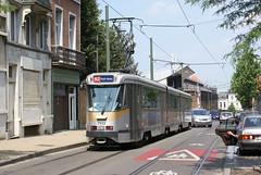 2009-07-01, Bruxelles, Chaussée de Haecht (Fototak) Tags: tram strassenbahn bruxelles stib mivb pcc ligne92 belgium 7932 t7900