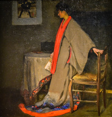 Alfred Maurer - Young Woman in a Kimono, 1901 at National Gallery of Art - Washington DC (mbell1975) Tags: washington districtofcolumbia unitedstates us alfred maurer young woman kimono 1901 national gallery art dc nga museum museo musée musee muzeum museu musum müze museet finearts fine arts gallerie beauxarts beaux galleria painting realism realist