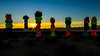 Sunrise Magic (James Marvin Phelps) Tags: james marvin phelps photography jean nevada las vegas mojave desert seven magic mountains star burst ugo rondinone artwork sun sunrise âjmpphotography