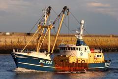 Calisha (calzer) Tags: blue 235 pd scotland november nov winter camera eos canon trawler beam calisha fishing boat aberdeen
