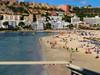 "Santa Ponsa Beach (IMG_0264) (Cameron Burns) Tags: calvia sun beach playa mallorca majorca isla baleares balearics island spain españa sunshine vacation holiday mediterranean mediterráneo travel europe med water agua sea mar ocean océano palma cathedral ""palma cathedral"" ""la seu"" la seu gothic ""parc de mar"" parc ""santa ponsa"" santa ponsa"