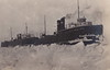 """SHIP Frankfort Elberta MI RPPC AARR STEAMER CAR FERRYS No. 5 INBOUND BUT ICED OUT OF THE HARBOR THE CHANNEL & BETSIE BAY Real Photo Postcard Photographer UNK1 (UpNorth Memories - Donald (Don) Harrison) Tags: vintage antique postcard rppc """"don harrison"""" """"upnorth memories"""" upnorth memories upnorthmemories michigan history heritage travel tourism restaurants cafes motels hotels """"tourist stops"""" """"travel trailer parks"""" cottages cabins """"roadside"""" """"natural wonders"""" attractions usa puremichigan """" """"car ferry"""" railroad ferry excursion boats ships bridge logging lumber michpics"""