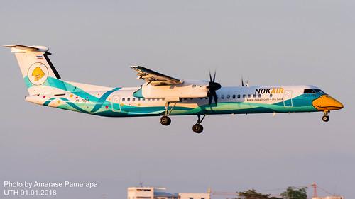 HS-DQH // Nok Air Bombardier Dash-8 Q400