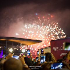 Fireworks in Vancouver, New year's Eve 2018 (Henry_pic) Tags: night fireworks canada canadaplace vancouver canon travel ayouthdiary new years eve