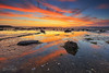 The End of the Day (Benz Catbagan) Tags: sunset dusk nz newzealand auckland landscape longexposure perfectexposure photo