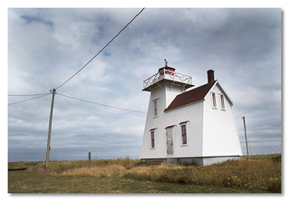 North Rustico Harbour Light - by John Runions