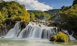 Krka Waterfall, Croatia