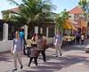 'Follow the leader'. (Fotofricassee) Tags: walking pedestrians curacao sun shade leader follow