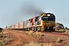 NR66 NR75 AN11 1PM7 Tent Hill RAW 26 12 2017 (EMD4301) Tags: nr66 nr75 an11 1pm7 ge emd cv409i jt46c agoninancoltd clydeengineering pacificnational tenthill transaustralianrailway tar