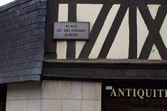 Maison _lieutenant_Aubert__40_2004_Rouen (A-Mercure) Tags: maison à pan de bois rue lieutenant aubert rouen