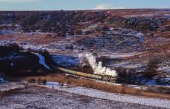 2253 At Fen Bog. 23/11/1996 (briandean2) Tags: 2253 northyorkshiremoorsrailway steam railways uksteam ukrailways fenbog
