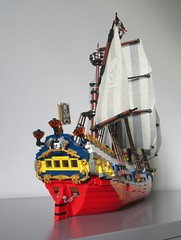 LEGO Ideas Tall Ship (sebeus) Tags: lego ideas pirate ship pirates tall sail