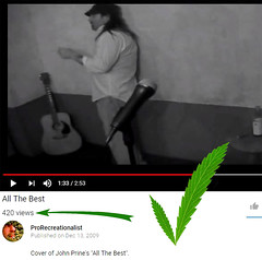 ...things you notice while smokin' reefer (professional recreationalist) Tags: brucedean professionalrecreationalist victoriabc marijuana cannabis 420 fourtwenty youtube