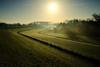 17121439 (felipe bosolito) Tags: morning sunrise dike winter bluesky forest green cold fuji xpro2 xf1655 velvia