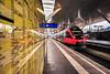 KDSC00847 (Hans-Peter Kurz) Tags: railway railroad reisen railscape eisenbahn zug train transport austria österreich outdoor salzburg bahnhof hbf hauptbahnhof br4024 talent bombardier abfahrt öbb verkehr svv spiegel mirror spiegelbild