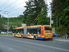 Zlin-Otrokovice No. 406 (johnzebedee) Tags: trolleybus transport publictransport zlinotrokovice czechrepublic vehicle johnzebedee skoda skoda25tr