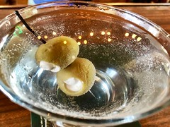 """Hanya orang-orang dengan hati damailah yang boleh menerima kejadian buruk dengan lega."" ―Tere Liye 🍸 (anokarina) Tags: appleiphone8 atscots chicago illinois il ravenswoodplace martini vodka alcohol liquor drink cocktail greenolives bluecheese drinkporn gay lgbtq bar pub tavern"