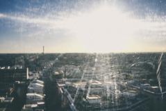 (Nicola Colella) Tags: city sun bari italy altitude controluce