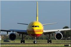 Airbus A300B4-622R(F), DHL Air, D-AEAQ (OlivierBo35) Tags: rns rennes spotting a300 airbus dhl