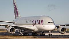 A7-APD (tynophotography) Tags: qatar airways a380 a7apd a388 a380800 cdg lfpg charlesdegaulle airbus