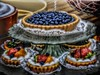 A Taste of Summer (clarkcg photography) Tags: fruit blueberry strawberry kiwi saturated saturatedsaturday
