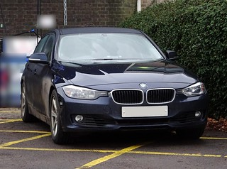 West Midlands Police Unmarked BMW 330d Driver Training Unit, Birmingham.