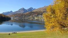St.Moritz, 13.10.17 (ritsch48) Tags: stmoritz stmoritzersee engadin graubünden