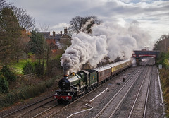 5043 At Barrow upon Soar. 09/12/2017 (briandean2) Tags: 5043 steam railways uksteam ukrailways barrowuponsoar